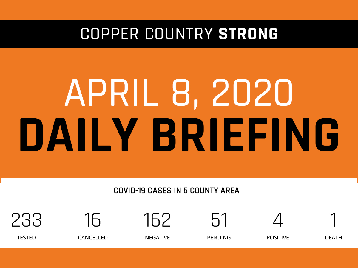 Daily Briefing - April 8, 2020
