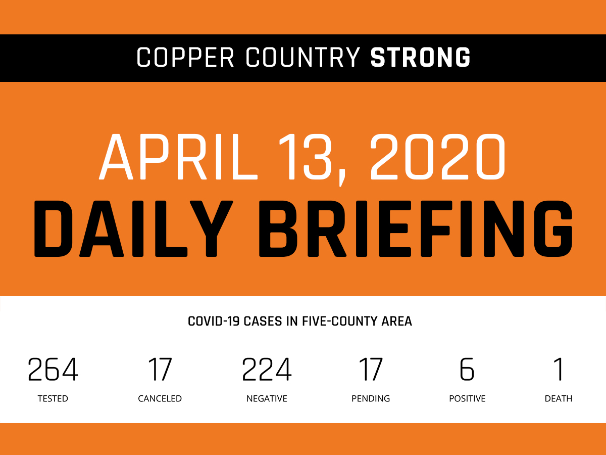 Daily Briefing - April 13, 2020