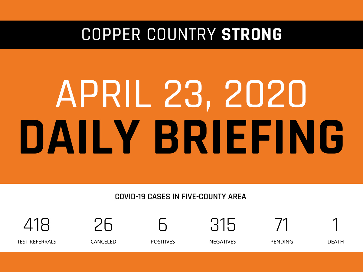 Daily briefing - April 23