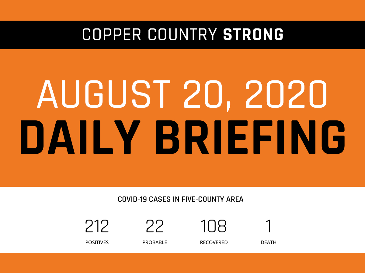 August 20 Daily Briefings