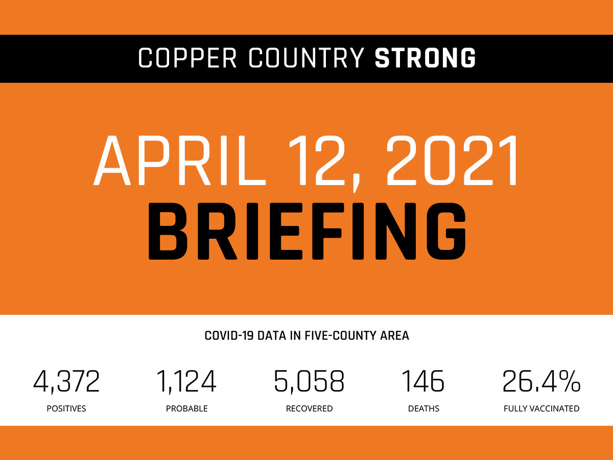 April 12 Briefing