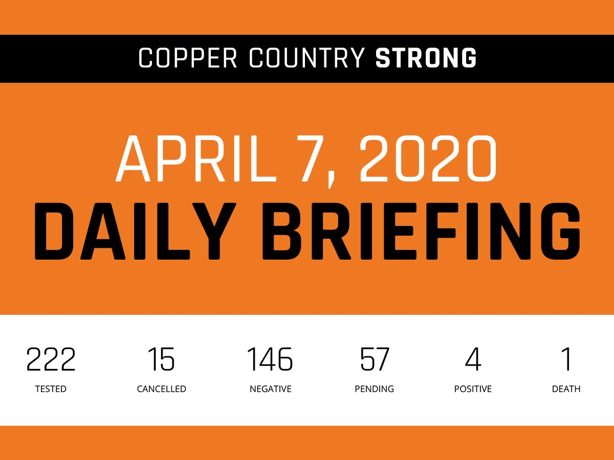 April 7 Daily Briefing Graphic