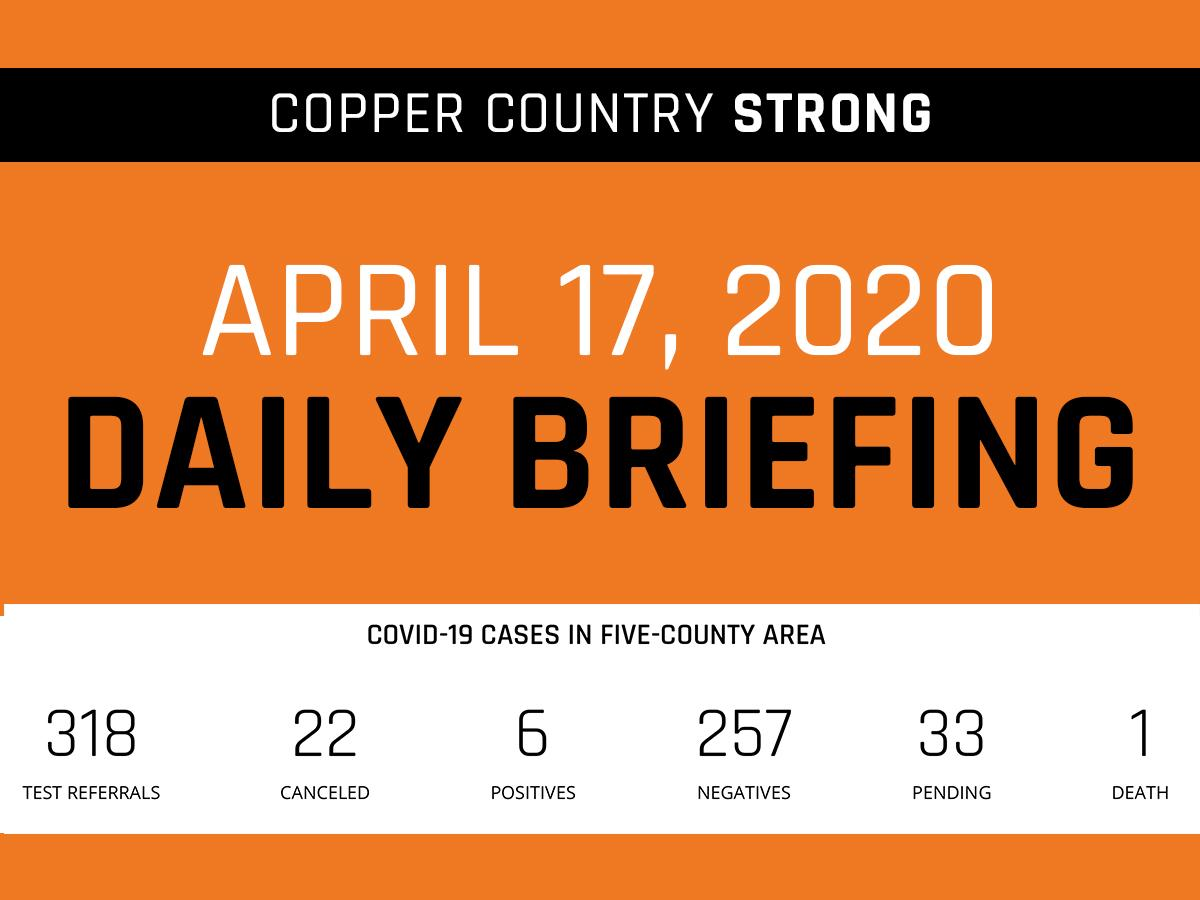 April 17 Briefing